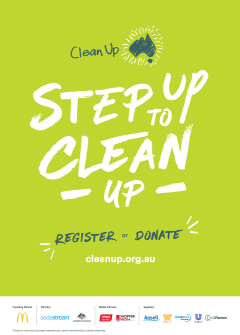 2021 Clean Up Australia Day poster (generic)
