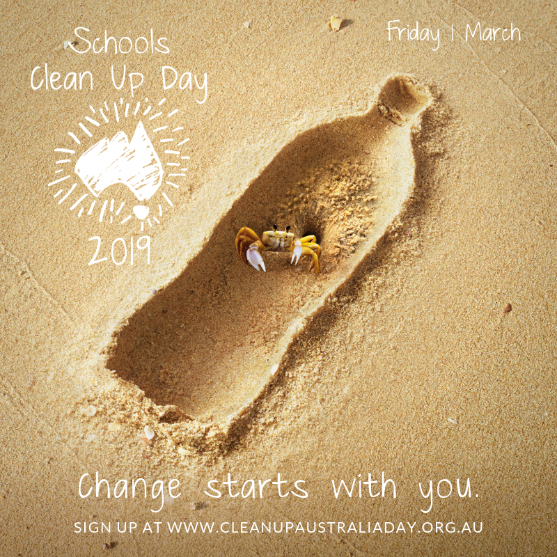 Schools Clean Up Day Graphic