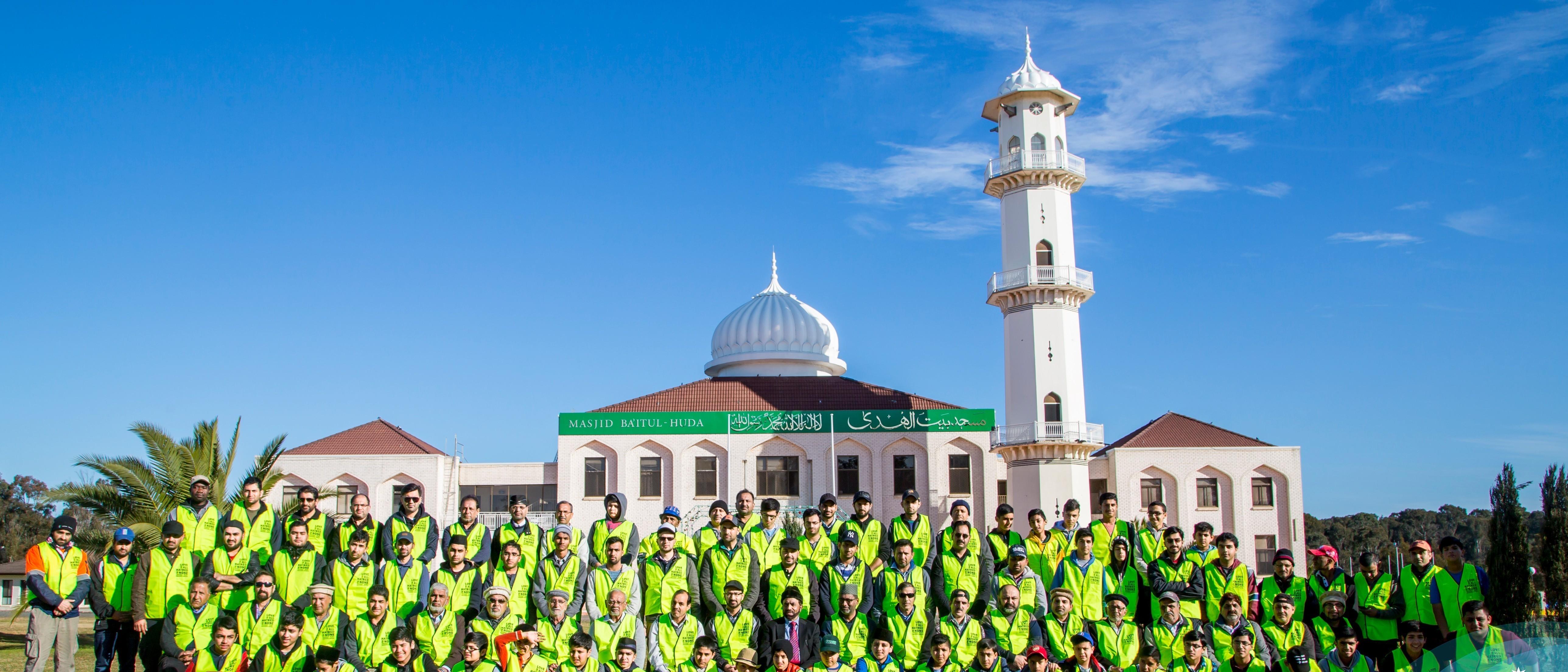 Ahmadi Muslims ACT – Mount Ainslie Drive