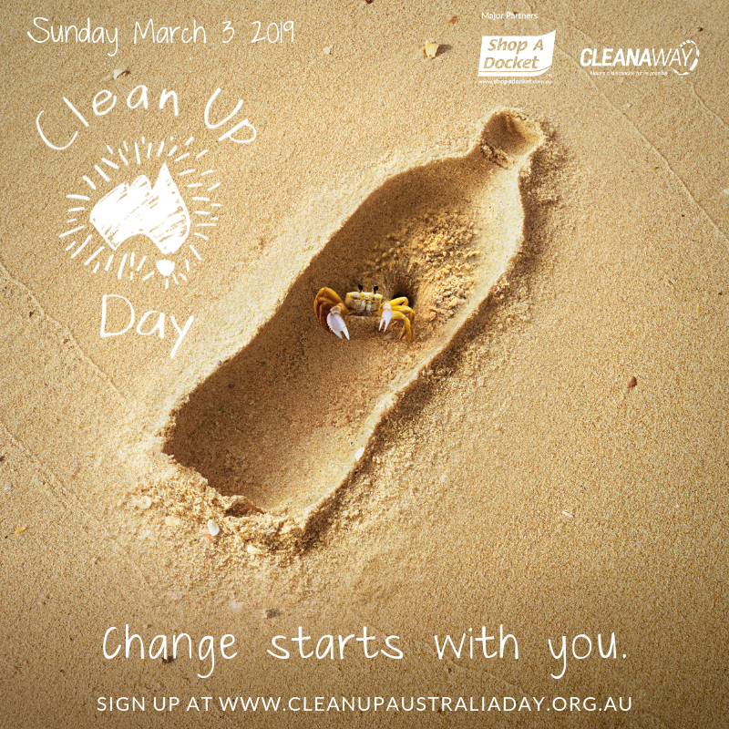 Clean Up Australia Day Graphic
