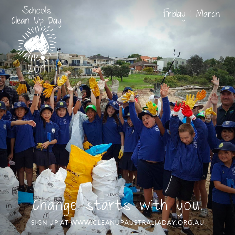 Schools Clean Up Day Image