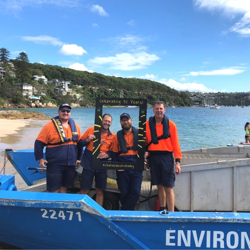 Clean Up Sydney Harbour - Celebrating 30 Years!